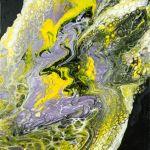Lila Fluss Painting By Jutta Bluhberger Faith Dance Art Artmajeur