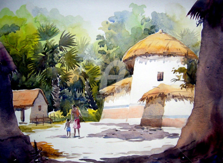 Image Result For Contemporary Watercolour Painting