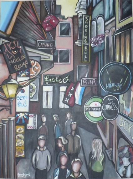 """""""Folies d'Amsterdam"""" 2009. VENDU"""