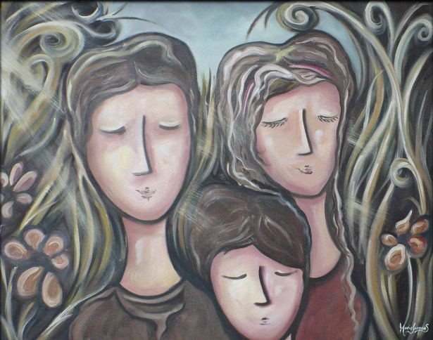 """""""Agréable"""" Huile sur toile 24 x 30. 2012"""