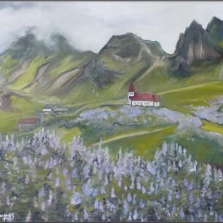 """""""Vik"""" Huile sur toile 16 x 20. 2010"""