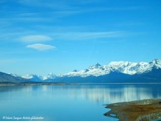 En direction de Perito Moreno