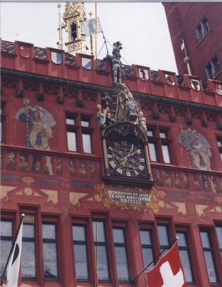 Hotel de ville-Bâle-Suisse