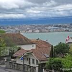 Cologny - vue sur Genève