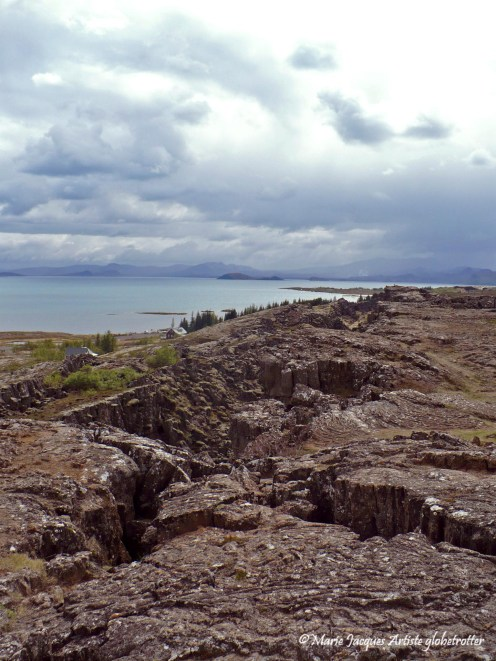 Thingvellir - faille d'Almannagjá