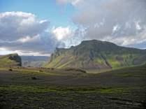 Dans les montagnes de Vik