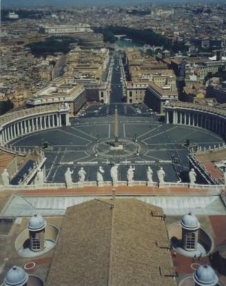 Place St-Pierre-Rome-Italie
