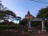 Coucher de soleil-Bagan