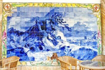Céramique au Palais de Buçaco