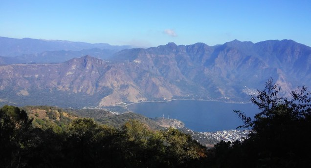 Montée du volcan