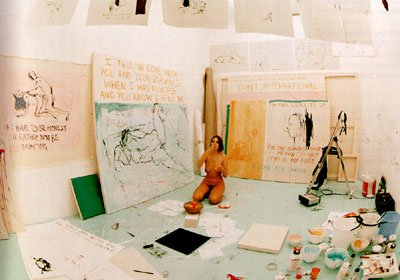 Image result for tracey emin exorcism of the last paint i ever did