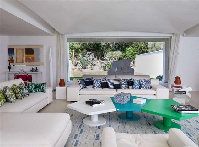 tapis en laine et coton a motifs geometriques by casa lopez on artnet
