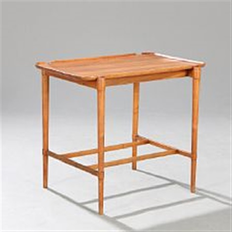 tray table with raised edges by peter hvidt on artnet