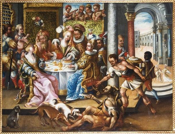 Resultado de imagen para el rico epulon y el pobre lazaro