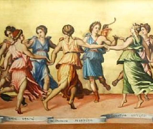 Apollo Dancing With The Nine Muses By Baldassare Peruzzi