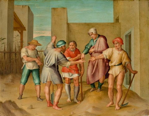 Image result for parable of the workers in the vineyard