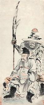 武圣图 by gao qipei