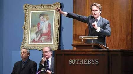The Art World Braces Christies Sothebys