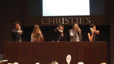 Christie's and Sotheby's: On the Champagne