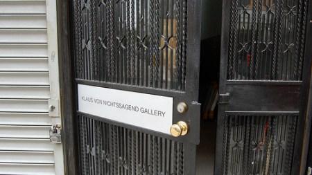 Gallery 2.0: Klaus Von Nichtssagend Opens