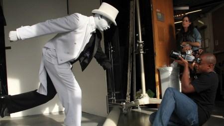 Hank Willis Thomas Stages Photo Shoot