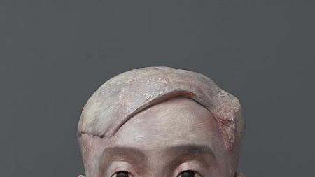 Zhang Xiaogang's Surprise Sculptures