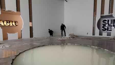 Doug Aitken Demolishes 303 Gallery