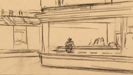 How Edward Hopper Storyboarded 'Nighthawks'