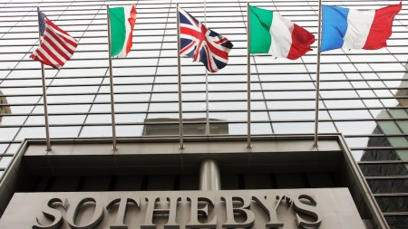 Sotheby's First-Half Revenue Holds Steady