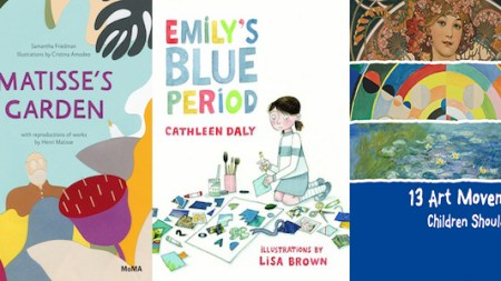 9 Awesome New Art Books Kids