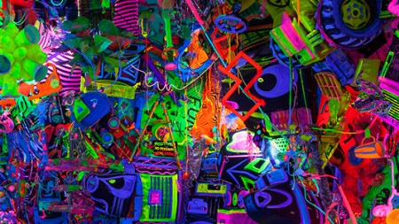 Kenny Scharf Delivers Cosmic Cavern Museum