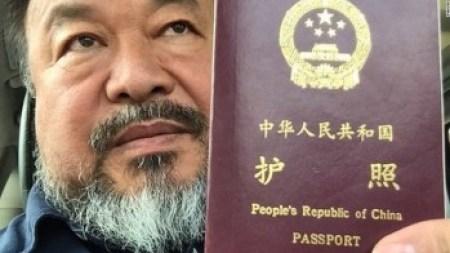 China Returns Ai Weiwei's Passport, Allows