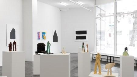 'Simone Fattal: Sculptures & Paintings' Karma