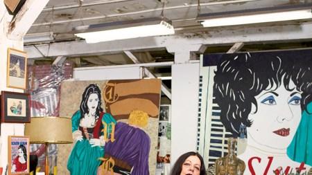 the Studio: Kathe Burkhart