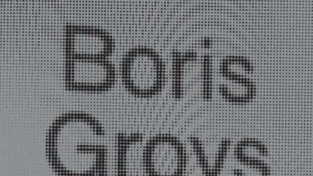 Clear History: Boris Groys Tackles Art