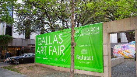 the Dallas Art Fair, Amid Vibrant