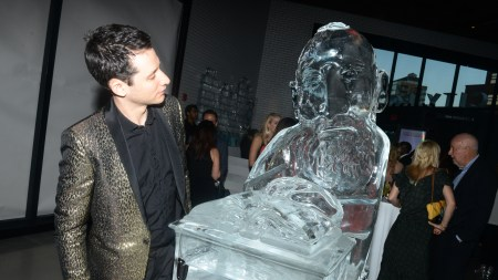 About Those Jordan Wolfson Ice Sculptures