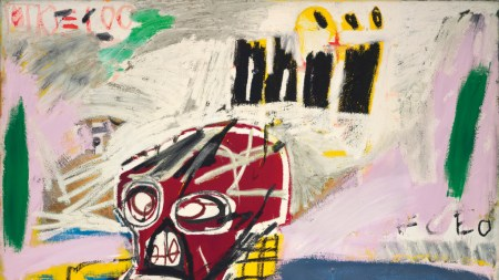 Basquiat's 'Red Skull,' Sold Christie's London