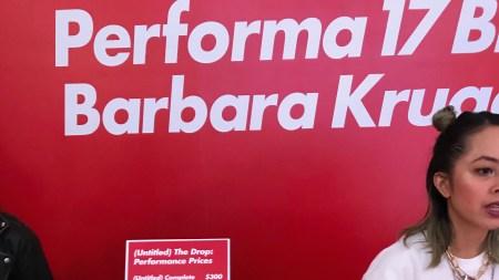 Barbara Kruger Is Selling Hoodies SoHo