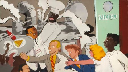 Robert Colescott Estate Heads Blum &