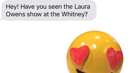 Laura Owens Designed iMessage Stickers the