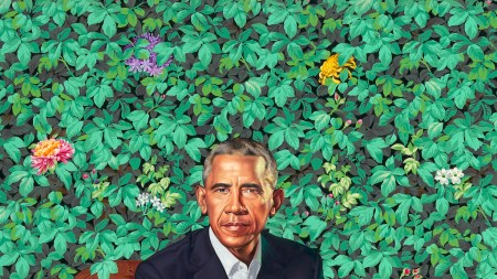 Behold the Official Portraits of Barack