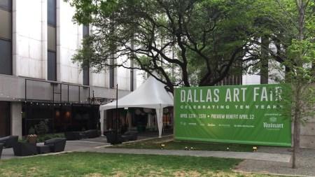 Dallas Art Fair, Dealers Play Their