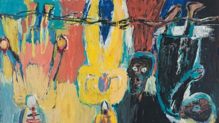 From the Archives: Baselitz, Straight Up