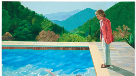 David Hockney's Famed Pool Scene Sells