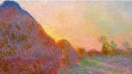 Claude Monet's Haystack Will Hit the