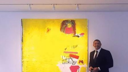 Phillips Sell Pieces Jean-Michel Basquiat, Richard