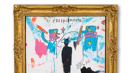 Jean-Michel Basquiat The Death of Michael