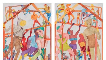 Gladys Nilsson, 'Léger Faire,' 1986–87.