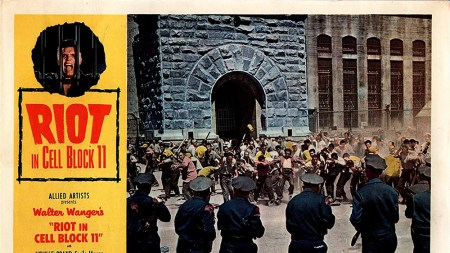 Lobby card for Riot in Cell